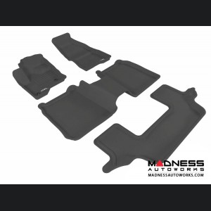 Ford Flex Floor Mats (Set of 4) - Black by 3D MAXpider