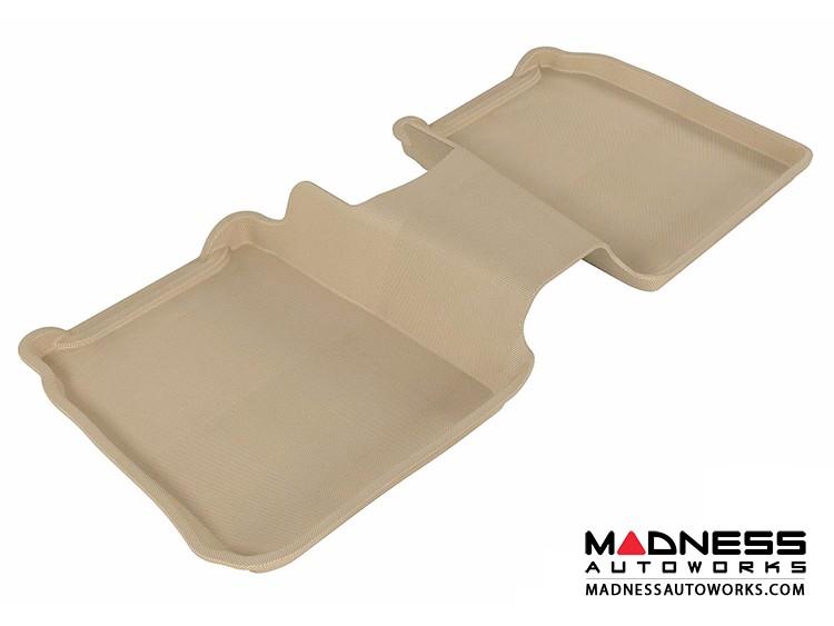 Ford Flex Floor Mat - Rear - Tan by 3D MAXpider