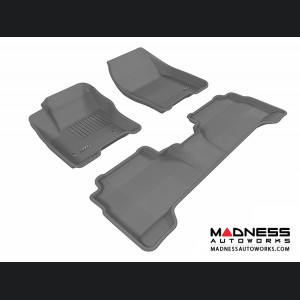 Ford C-Max Floor Mats (Set of 3) - Gray by 3D MAXpider