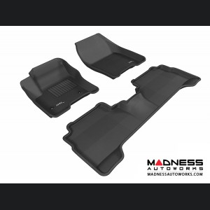 Ford C-Max Floor Mats (Set of 3) - Black by 3D MAXpider