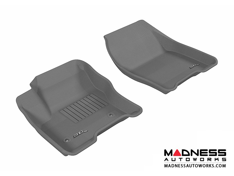 Ford Escape Floor Mats (Set of 2) - Front - Gray by 3D MAXpider