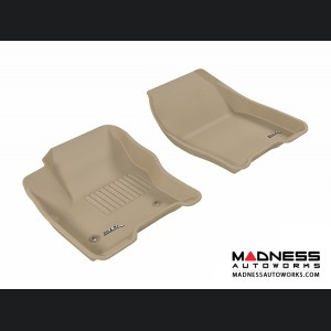 Ford Escape Floor Mats (Set of 2) - Front - Tan by 3D MAXpider