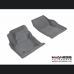 Ford Fusion Floor Mats (Set of 2) - Front - Gray by 3D MAXpider
