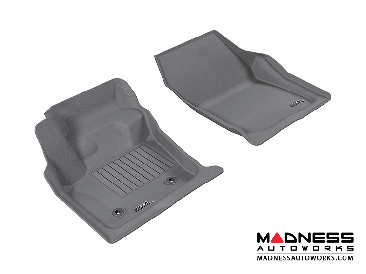 Ford Fusion Floor Mats Set Of 2 Front Gray By Maxpider Madness Autoworks Auto Parts And Accessories