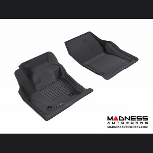 Ford Fusion Floor Mats (Set of 2) - Front - Black by 3D MAXpider