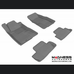 Ford Mustang Floor Mats (Set of 4) - Gray by 3D MAXpider