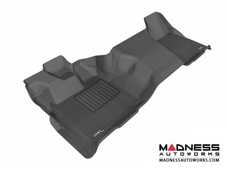 Ford F-250/ 350/ 450 Super Duty Regular Cab Floor Mat  - Rear - Black by 3D MAXpider