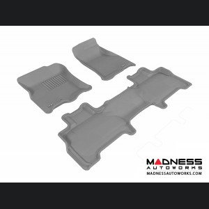 Ford Expedition Floor Mats (Set of 3) - Gray by 3D MAXpider
