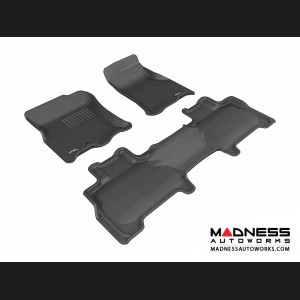 Ford Expedition Floor Mats (Set of 3) - Black by 3D MAXpider