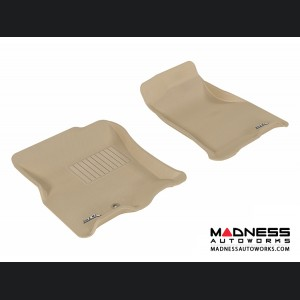 Ford Expedition Floor Mats (Set of 2) - Front - Tan by 3D MAXpider