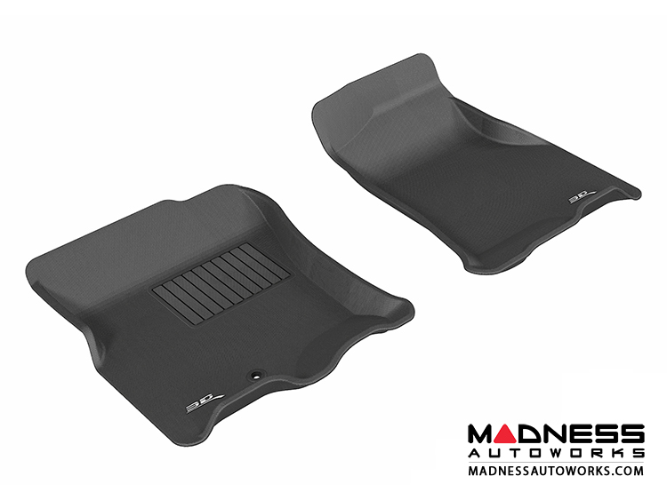 Ford Expedition Floor Mats Set Of  Front Black By D Maxpider