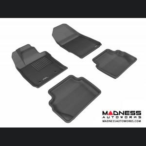 Ford Fiesta Hatchback Floor Mats (Set of 4) - Black by 3D MAXpider
