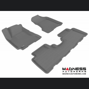 Hyundai Tucson Floor Mats (Set of 3) - Gray by 3D MAXpider