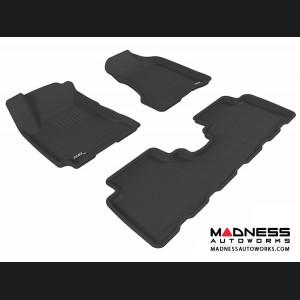Hyundai Tucson Floor Mats (Set of 3) - Black by 3D MAXpider