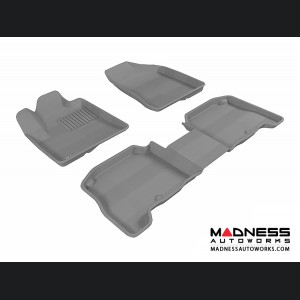 Hyundai Santa Fe Floor Mats (Set of 3) - Gray by 3D MAXpider