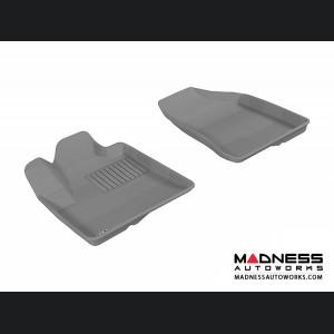 Hyundai Santa Fe Floor Mats (Set of 2) - Front - Gray by 3D MAXpider