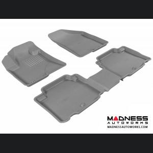 Hyundai Veracruz Floor Mats (Set of 3) - Gray by 3D MAXpider