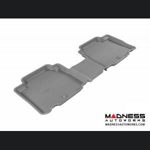 Hyundai Veracruz Floor Mat - Rear - Gray by 3D MAXpider