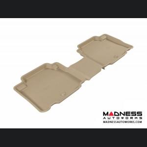 Hyundai Veracruz Floor Mat - Rear - Tan by 3D MAXpider