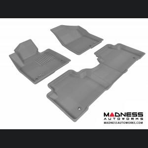 Hyundai Santa Fe Sport Floor Mats (Set of 3) - Gray by 3D MAXpider