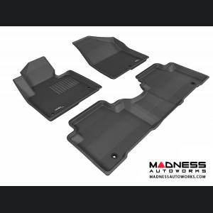 Hyundai Santa Fe Sport Floor Mats (Set of 3) - Black by 3D MAXpider
