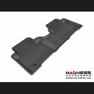 Hyundai Santa Fe Sport Floor Mat - Rear - Black by 3D MAXpider
