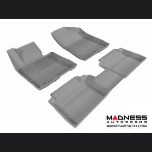 Hyundai Elantra GT Floor Mats (Set of 3) - Gray by 3D MAXpider
