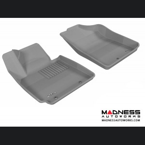 Hyundai Veloster Floor Mats (Set of 2) - Front - Gray by 3D MAXpider