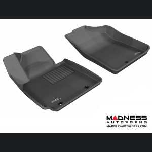 Hyundai Veloster Floor Mats (Set of 2) - Front - Black by 3D MAXpider