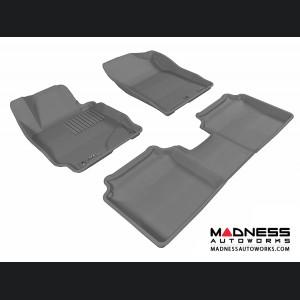 Hyundai Elantra Sedan/ Coupe Floor Mats (Set of 3) - Gray by 3D MAXpider