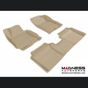 Hyundai Elantra Sedan/ Coupe Floor Mats (Set of 3) - Tan by 3D MAXpider