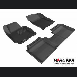 Hyundai Elantra Sedan/ Coupe Floor Mats (Set of 3) - Black by 3D MAXpider