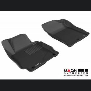 Hyundai Elantra Sedan/ Coupe Floor Mats (Set of 2) - Front - Black by 3D MAXpider