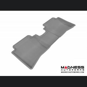 Hyundai Accent Sedan Floor Mat - Rear - Gray by 3D MAXpider