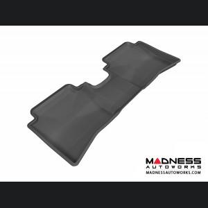 Hyundai Accent Sedan Floor Mat - Rear - Black by 3D MAXpider