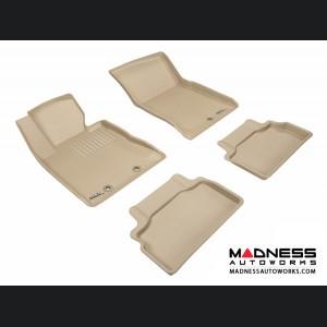 Hyundai Genesis Coupe Floor Mats (Set of 4) - Tan by 3D MAXpider