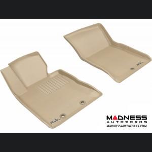 Hyundai Genesis Coupe Floor Mats (Set of 2) - Front - Tan by 3D MAXpider