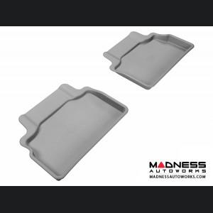 Hyundai Genesis Coupe Floor Mats (Set of 2) - Rear - Gray by 3D MAXpider
