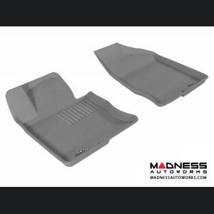 Hyundai Azera Floor Mats (Set of 2) - Front - Gray by 3D MAXpider