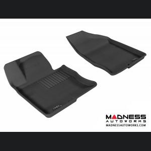 Hyundai Azera Floor Mats (Set of 2) - Front - Black by 3D MAXpider