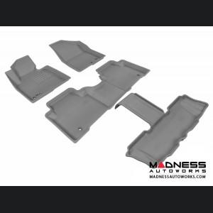 Hyundai Santa Fe Floor Mats (Set of 4) - Gray by 3D MAXpider