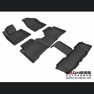 Hyundai Santa Fe Floor Mats (Set of 4) - Black by 3D MAXpider