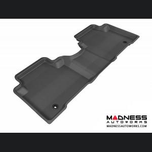 Hyundai Santa Fe Floor Mat - Rear - Black by 3D MAXpider