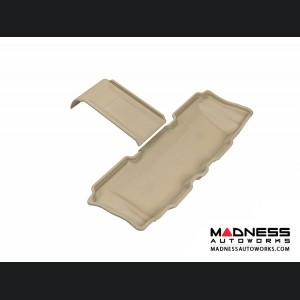 Hyundai Santa Fe Floor Mat - 3rd Row - Tan by 3D MAXpider