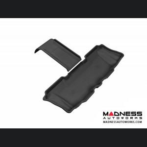 Hyundai Santa Fe Floor Mat - 3rd Row - Black by 3D MAXpider