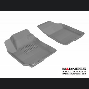 Hyundai Elantra Sedan Floor Mats (Set of 2) - Front - Gray by 3D MAXpider