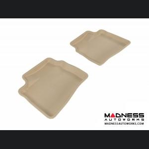 Hyundai Elantra Sedan Floor Mat - Rear - Tan by 3D MAXpider