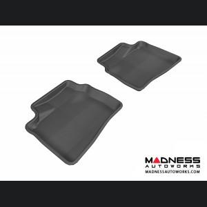 Hyundai Elantra Sedan Floor Mat - Rear - Black by 3D MAXpider
