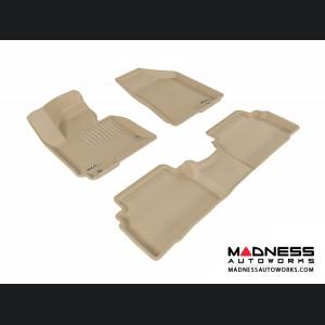 Hyundai Tucson Floor Mats (Set of 3) - Tan by 3D MAXpider