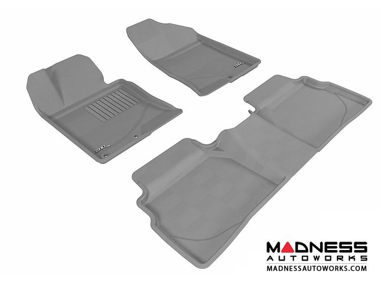 Hyundai Sonata Floor Mats (Set of 3) - Gray by 3D MAXpider